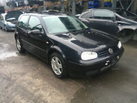 BREAKING - VOLKSWAGEN GOLF MK4 - ALL PARTS AVAILABLE