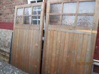 Garage doors and gates
