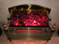 Vintage retro electric fire good working order