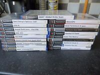 19 x Playstation 2 Games Some very collectable games