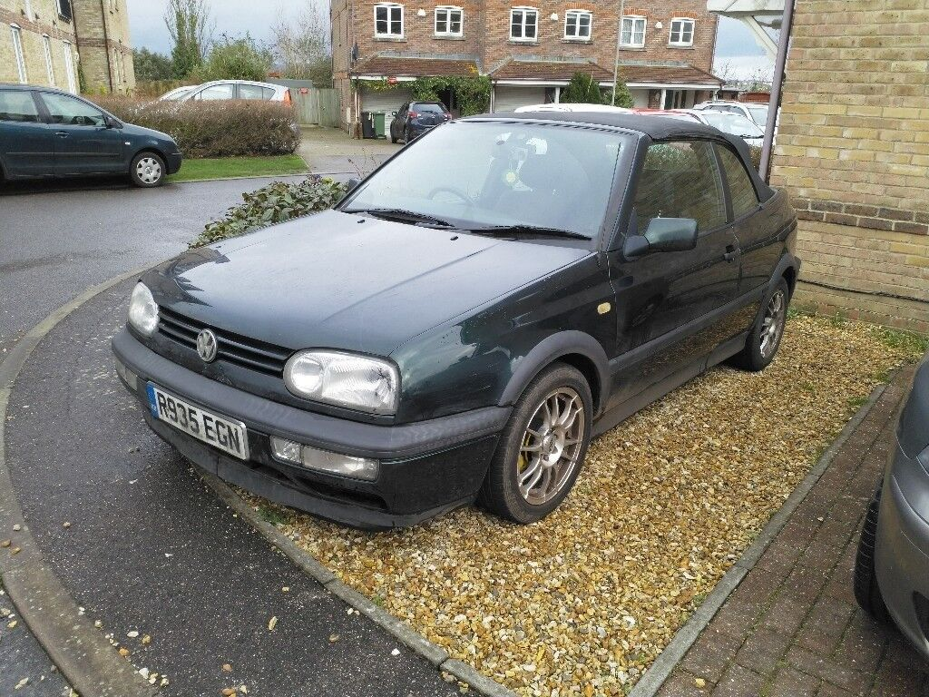 vw golf mk3 cabriolet convertible in weymouth dorset gumtree. Black Bedroom Furniture Sets. Home Design Ideas