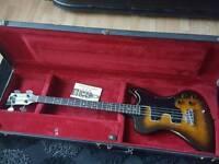Very rare Gibson RD Artist bass guitar 1978 + OHSC & Manual