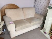 3 seater sofa with full size bed