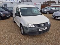 Volkswagen Caddy 2.0 SDI PD C20 Panel Van 4dr, 1 PREVIOUS OWNER. HPI CLEAR. SERVICE HISTORY