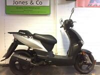 Kymco Agility 50cc scooter moped (2016) Automatic Silver metallic paint Delivery available! £850