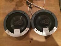 Fli 6x9 parcel shelf car speakers