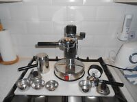 AMA MILANO original early 1970 expresso machine collectors item all working