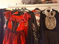 Dressing up Halloween/pirate/cat devil costumes