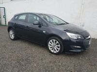 2012 Vauxhall Astra 1.4 Active Full Vauxhall Service Warranty Bluetooth