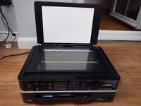 Epson Stylus Photo PX700W Printer Scanner Photocopier Prints CD/DVDs