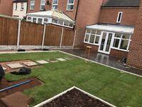 Reasonable & Professional gardening landscaping block paving slabing paving stones driveways