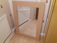 Large wall mirror - Quality English made