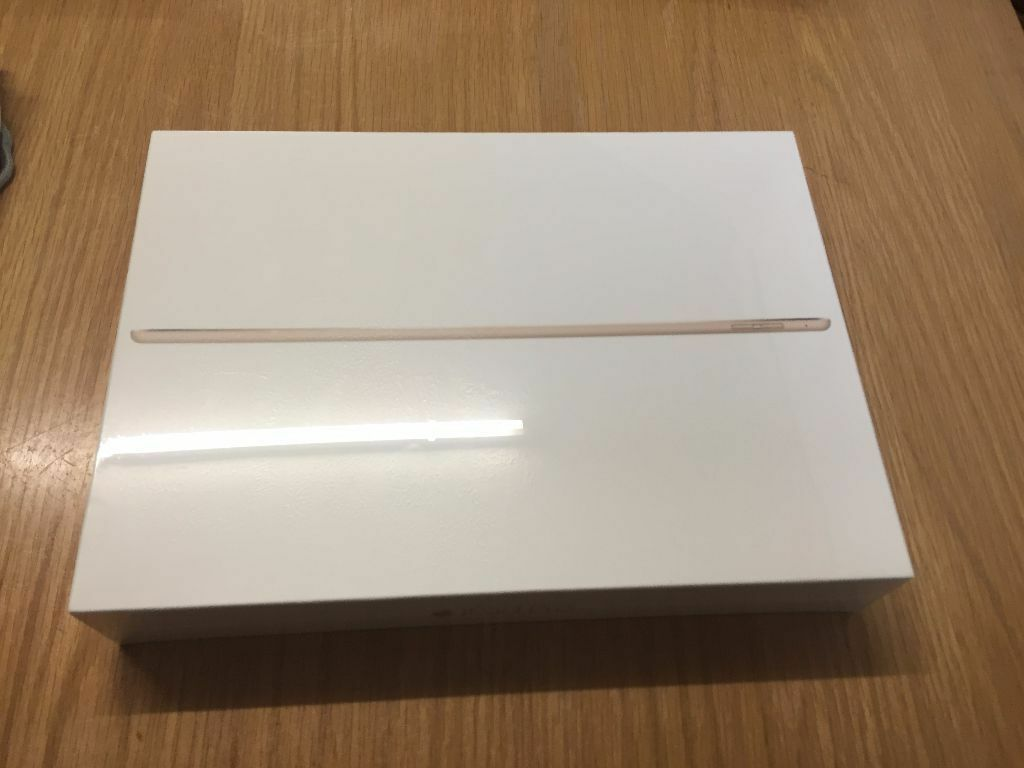 apple ipad pro 128gb gold wifi brand new sealed receipt sold out in raynes park london gumtree. Black Bedroom Furniture Sets. Home Design Ideas