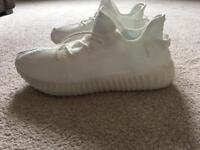 White Adidas yeezy boost v2 size 10.5
