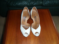 Charles of Portugal - Ladies white leather shoes