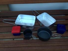 Camping mess tin kit