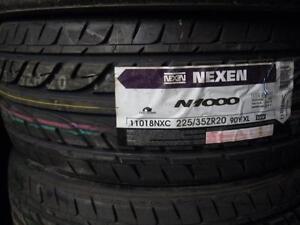 4 pneus neufs 225/35r20 nexen n1000
