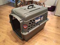 Airline approved pet carrier. Cat or Small Dog up to 30Lbs / 13kg, used once