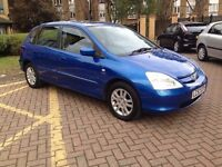 2003 HONDA CIVIC 1.6 AUTO EXECUTIVE SE 5 DOOR HATCHBACK PETROL