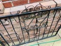 Garden gates double plus single