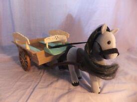 Sylvanian Families Farm Horse and Cart