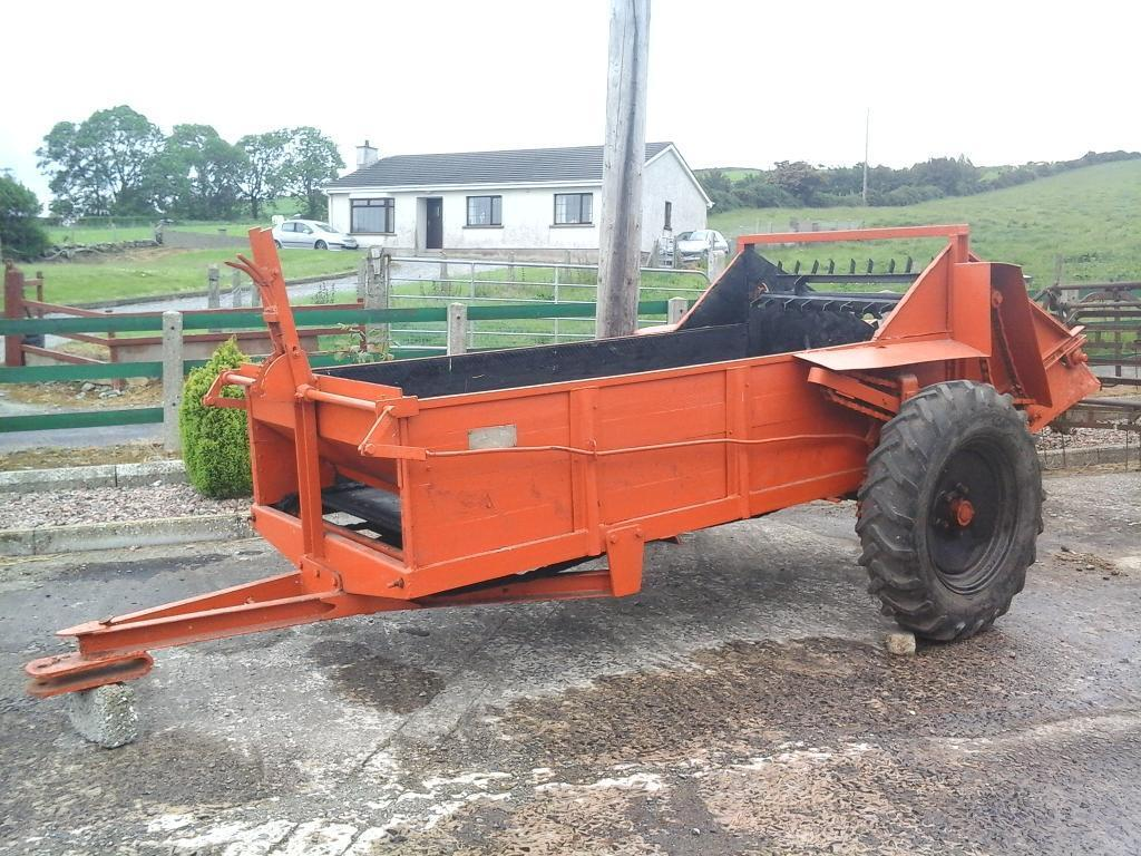 Working Manure Spreader : Vintage manure spreader for sale in newry county down