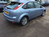 Automatic Ford Focus 1.6tdci—10 months mot,ser/ history,50k,ac,cd,alloys,clean car,excellent runner.