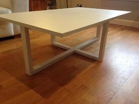 WHITE modern coffee table £45