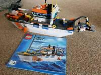 Lego city coast guard boat 60014