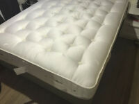 2y old king size divan bed (4 drawers) and mattress from Dreams
