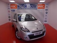 Renault Clio (DYNAMIQUE TOMTOM TCE) FREE MOT'S AS LONG AS YOU OWN THE CAR!!! (silver) 2011