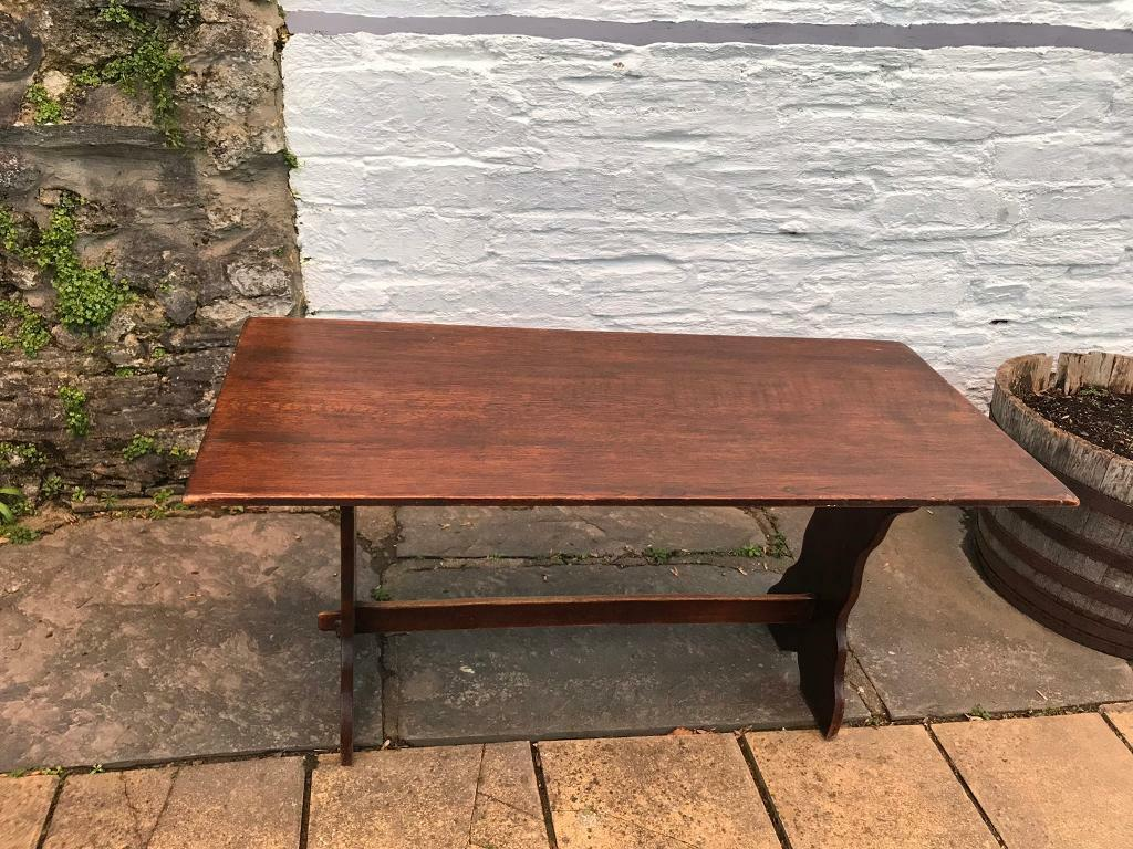 Solid Oak Dining Table In Cardigan Ceredigion Gumtree
