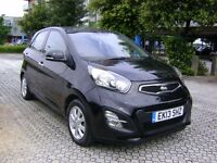 KIA PICANTO 1.25 2 5DR **HPI Clear**P/X Available**Warranty till 2020**Service History**Long MOT