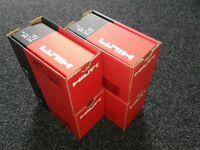 Hilti Nails box 750 + gas for GX 100 - GX 120 -GX 100 E - GX120 ME ( 14 mm / 39 mm