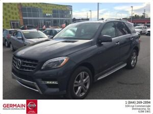 2014 Mercedes ML350 4MATIC- BLUETEC-CUIR-TOIT PANORAMIQUE