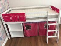 Kids midi sleeper bed - no mattress