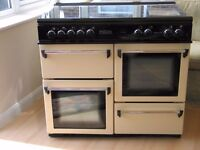 leisure cookmaster 101 electric cooker range