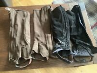Shires chaps used £8 for both size medium