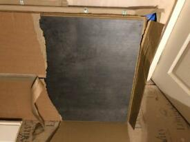 Kitchen Splashback & Worktop TekWall Italian Concrete (600x4050x10) - (4000x602x38)