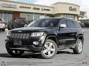 2012 Jeep Grand Cherokee | OVERLAND | 4X4 | NAVIGATION | LEATHER