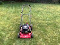 Self propelled petroleum lawnmower 18 inch