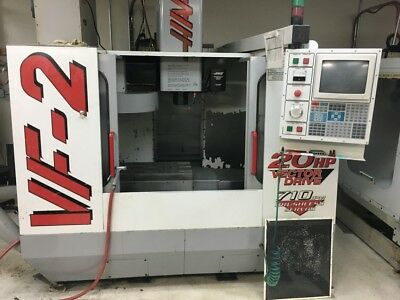 1998 Haas Vf-2 Vmc With Gearbox Pcool Auger Mist Collector More.