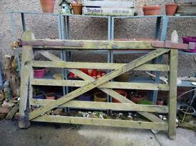 Vintage Heavy Solid Wood Farm Gate