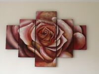 Canvas Rose picture