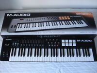BNIB M-Audio Oxygen 61 v4 USB MIDI Velocity Sensitive Keyboard / Pad Controller