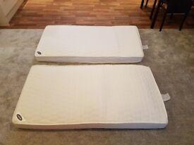 BRAND NEW Obaby 140 x 70cm Pocket Sprung Cot Bed