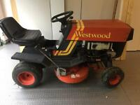 Westwood Ride on Mower with grass box