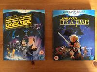 Family Guy Star Wars Blu Ray Films (Used)