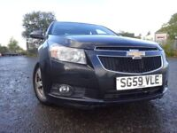 59 CHEVROLET CRUZE LS 1.6,MOT MAY 019,3 OWNERS FROM NEW,2 KEYS,PART SERVICE HISTORY,STUNNING EXAMPLE