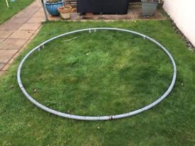 8ft garden trampoline dismantled